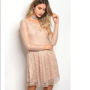 Soieblu Lace Dress Long sleeve